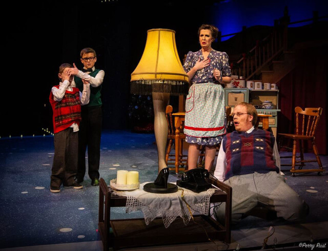 A Christmas Story: The Musical is fun for all ages