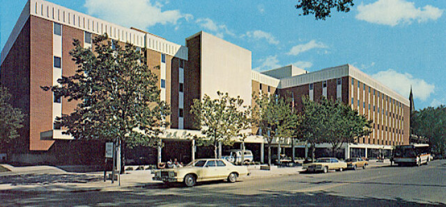 Fargo Clinic in 1975