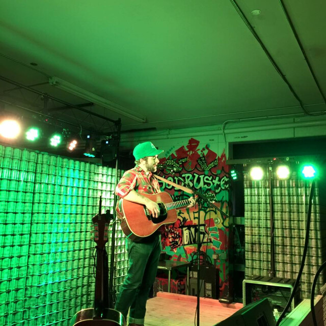 Dave Simonett of Trampled by Turtles plays a solo show at Fargo Brewing Company. Photo courtesy of Fargo Brewing Company / Special to The Forum