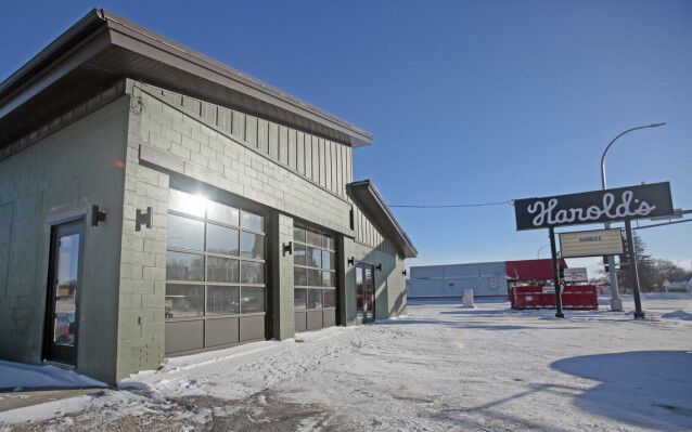 Exterior of Harold's on Main located at 1330 Main Ave. in Moorhead. David Samson / The Forum