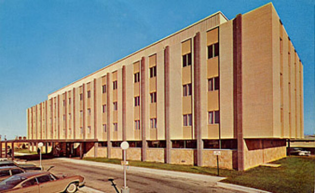 The Dakota hospital opened on November 2nd, 1964 with 120 medical beds. Photo courtesy of the Dakota Medical Foundation