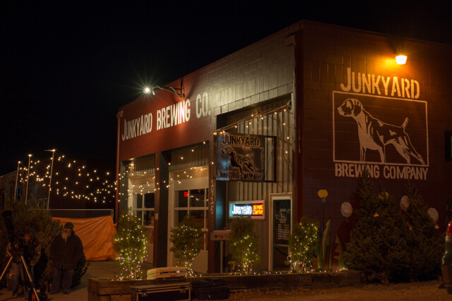 Junkyard recently expanded to include two tap rooms